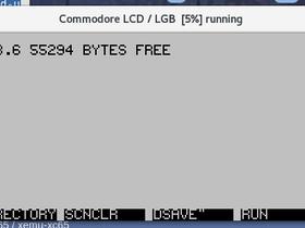 Commodore LCD (xemu/xclcd) - Emulatoren - Forum64